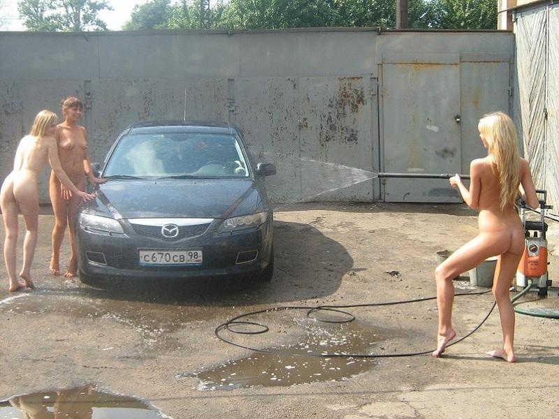 Русский порно фильм на автомойке
